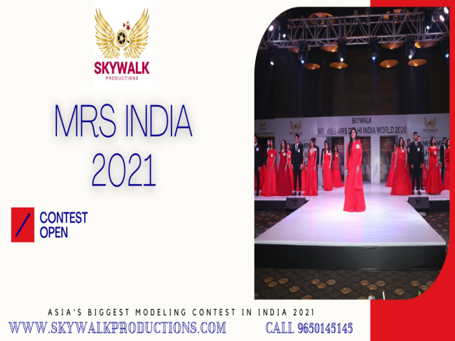 Mrs India 2021 Contest