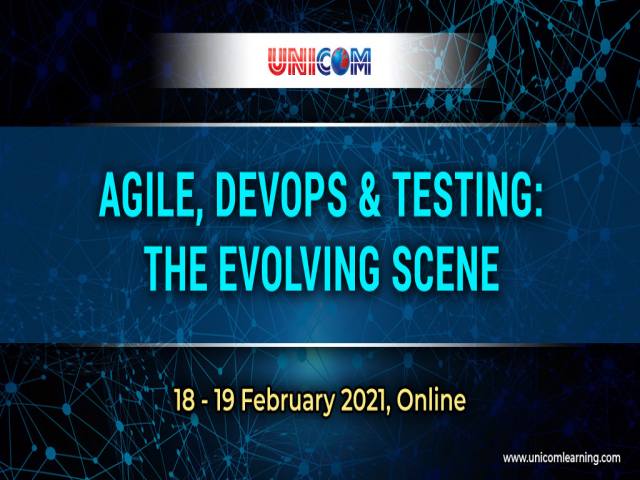Agile, DevOps & Testing: The Evolving Scene, 18-19 feb
