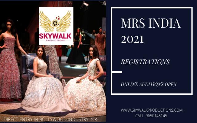 Mrs India 2021 Registration