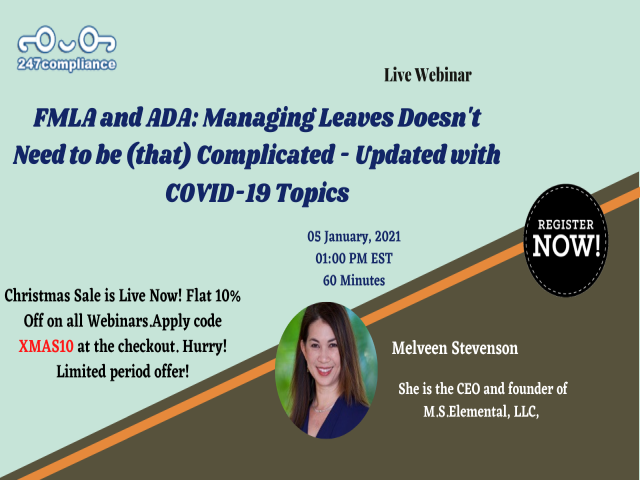 FMLA and ADA: Managing Leaves Doesn't Need to be (that) Complicated - Updated