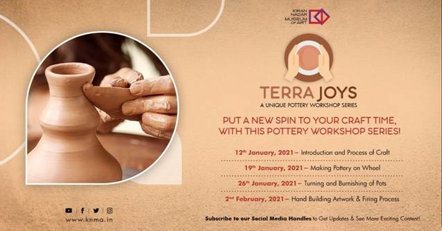 Kiran Nadar Museum of Art presents a new workshop 'TERRA JOYS'