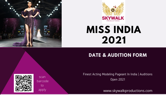 Miss India 2021 Date & Audition Form