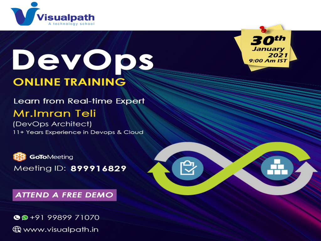We are conducting a Free Demo on DevOps in Online mode