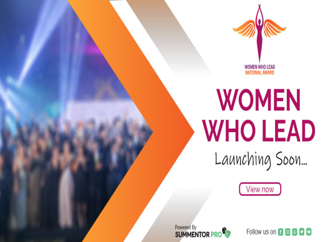 Women Who Lead  -  National Business Awards 2021