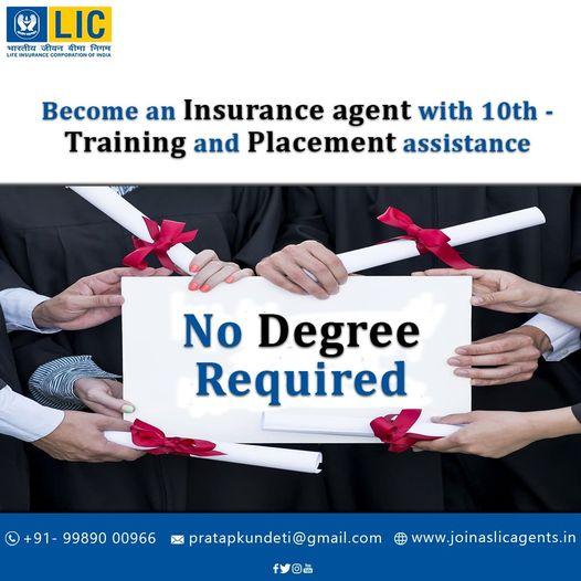 LIC Agent Job|LICCareer|LIC Salary and benefits|LIC Job in Hyderabad