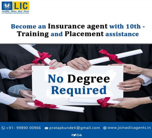 LIC Agent Job|LICCareer|LIC Salary and benefits|LIC Job in Hyderabad
