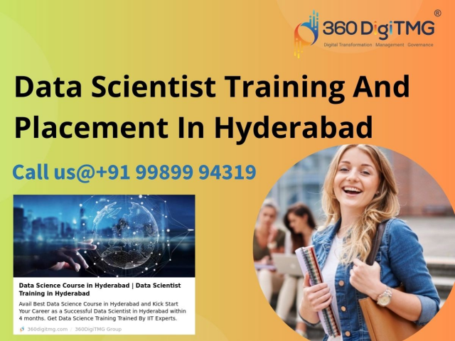 Best Data Scientist Training And Placement In Hyderabad - 360DigiTMG