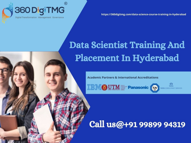 360DigiTMG - Data Scientist Training And Placement In Hyderabad