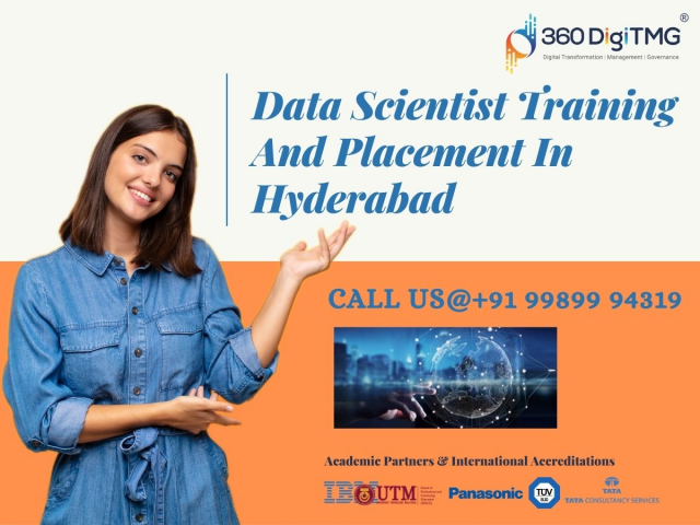Best Data Scientist Training And placement in hyderabad