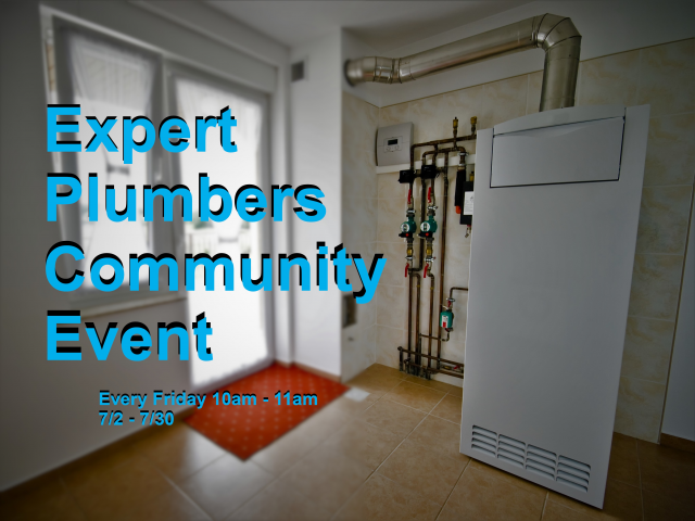 Expert Plumbers Community Event