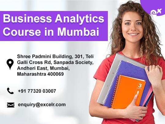ExcelR - Business Analytics Course at Andheri Mumbai