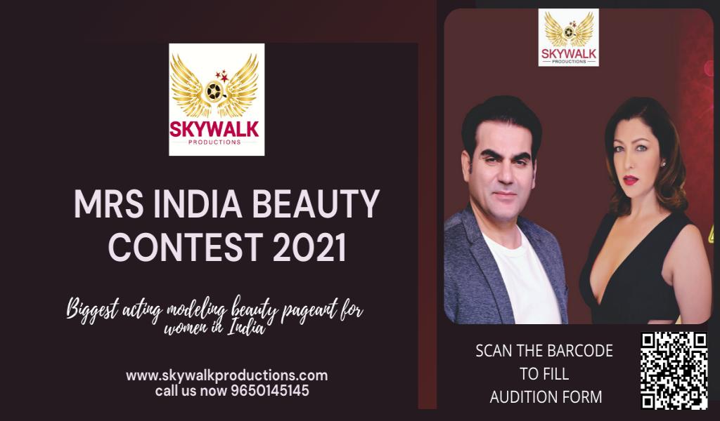 Mrs India Beauty Contest 2021