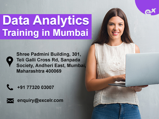 ExcelR - Data Analytics Training at Andheri Mumbai