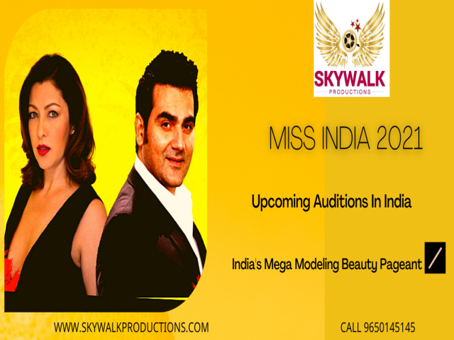 Miss India Audition 2021 Registration ( Date and Place )