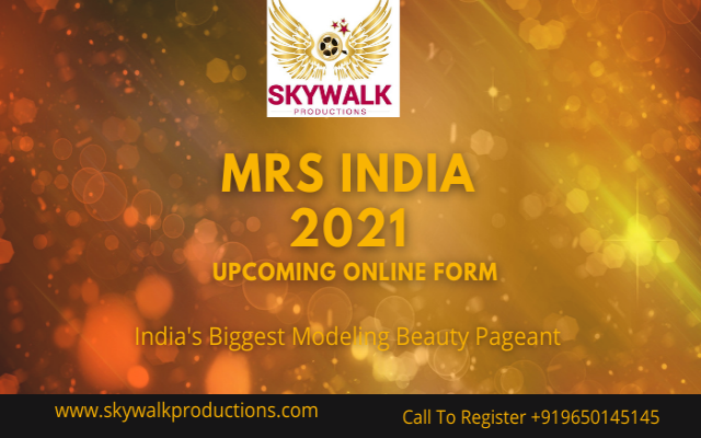 Mrs India 2021 Upcoming Online Form