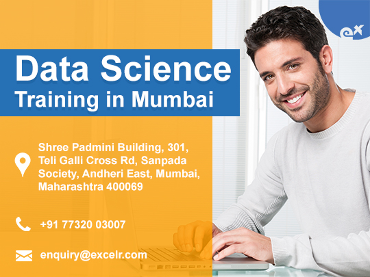 ExcelR - Data Science Training in Andheri East, Mumbai