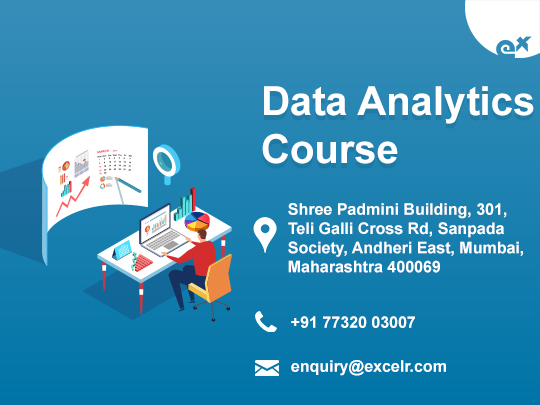 ExcelR-Data Science, Data Analytics, Business Analytics Course Training in Andhe