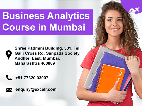 ExcelR - Business Analytics Course Certification in Mumbai