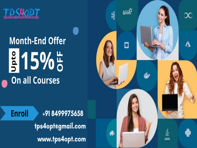 Grab the Month End offer on all Courses @ TPS4OPT