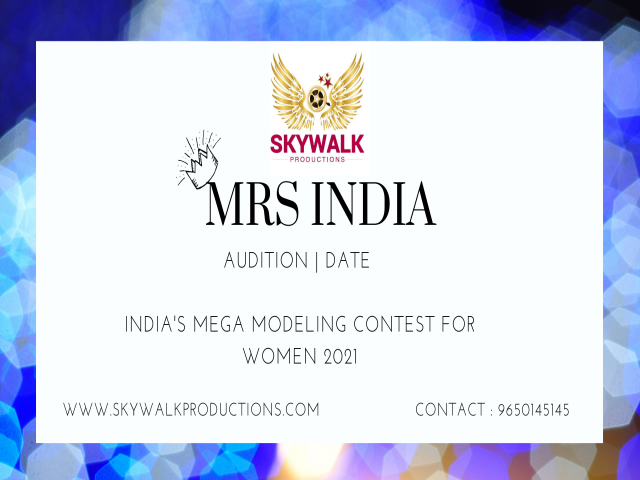 Mrs India | Audition | Date