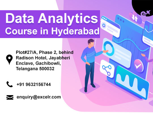 ExcelR - Data Analytics Course Training in Hyderabad