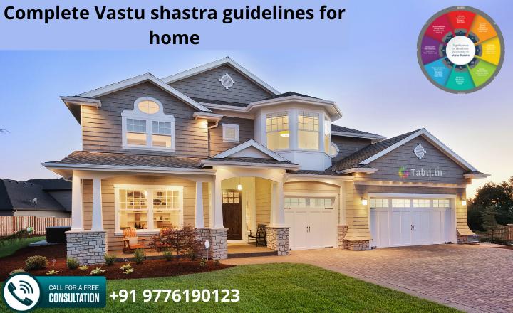 Complete Vastu shastra guidelines for home