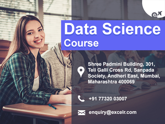 ExcelR - Data Science Course Certification in Mumbai