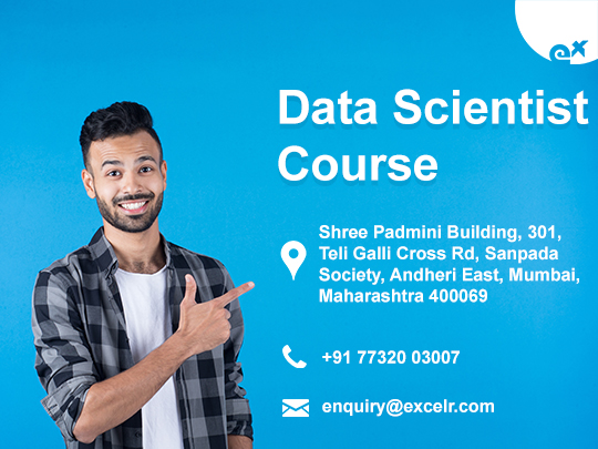 ExcelR - Data Scientist Course Certification in Mumbai