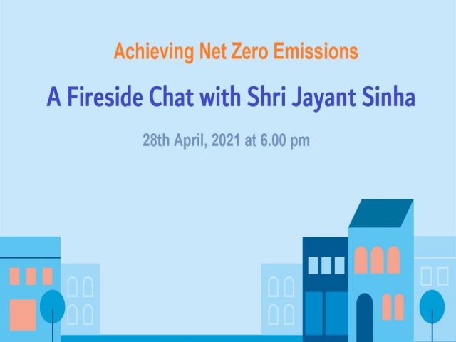 Net Zero Bharat: A Fireside Chat with Shri Jayant Sinha