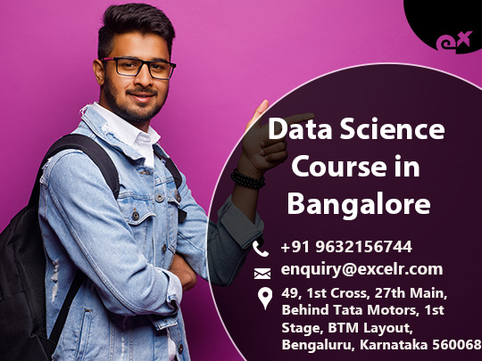 Data science course and training in Bangalore