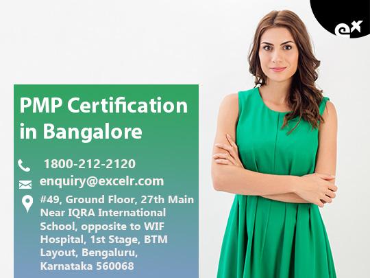 ExcelR - PMP Certification Course  Bangalore