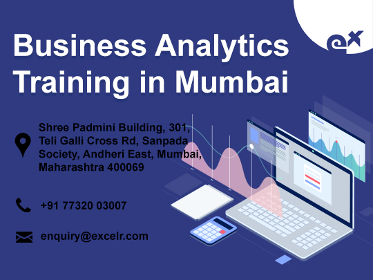 ExcelR - Business Analytics Courses Training in Mumbai