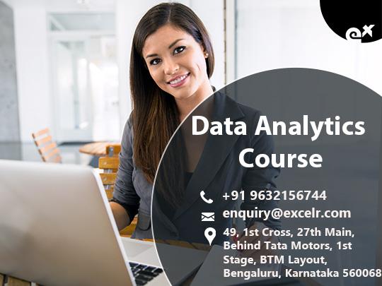 Data Analytics Course -free demo in Bangalore