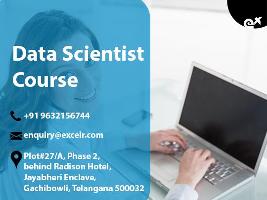 Data Scientist Course 3rd june