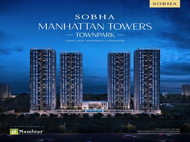 2 BHK Apartments in Sobha Manhattan Bangalore