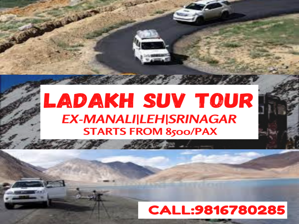 Leh Ladakh SUV ROAD TRIP - Innova