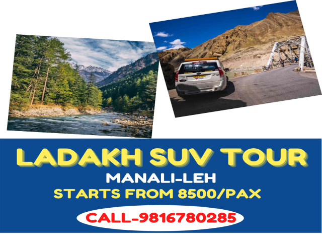 Leh Ladakh SUV ROAD TRIP - Tempo Traveller