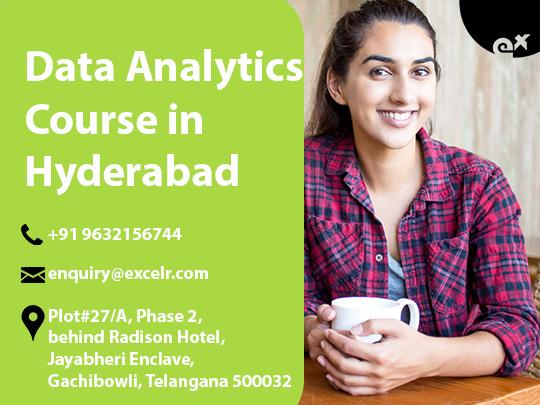 ExcelR Data Analytics course in Hyderabad