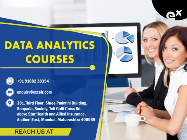 Data Analytics courses, July 17