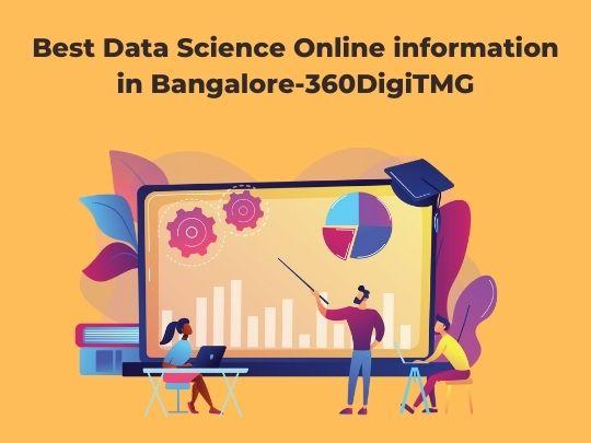 Best Data Science Online information in Bangalore-360DigiTMG
