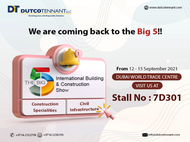We are coming back to the Big 5