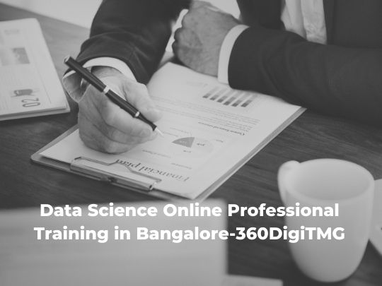 Data Science Online professional Training in Bangalore-360DigiTMG