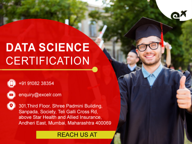 Data Science Certification, Sept 22
