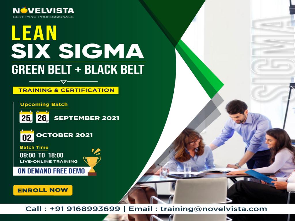 Register Now Lean Six Sigma Green Belt + Black Belt Certification Program