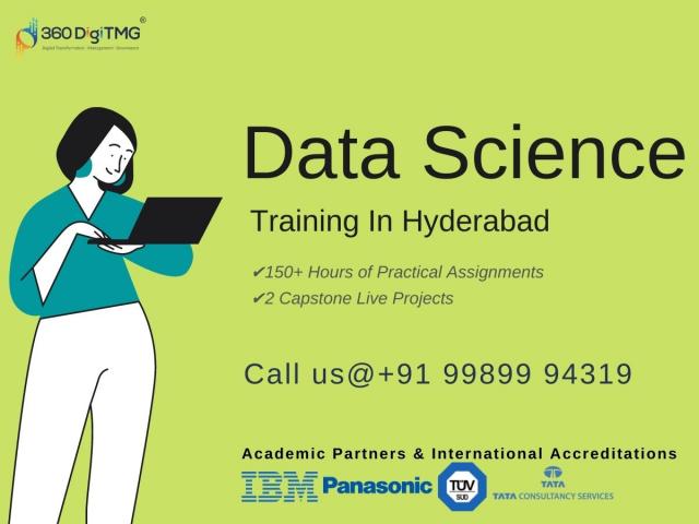 360DigiTMG Institute - Data Science Training  In Hyderabad