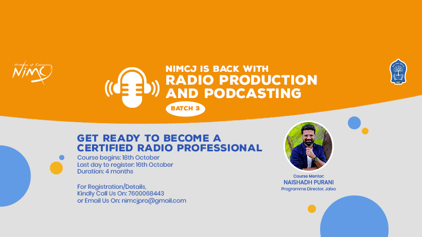 Radio Production And Podcasting - Batch 3