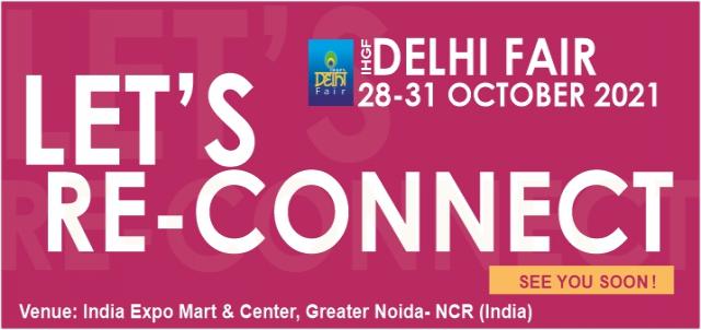 52nd IHGF Delhi Fair Autumn 2021