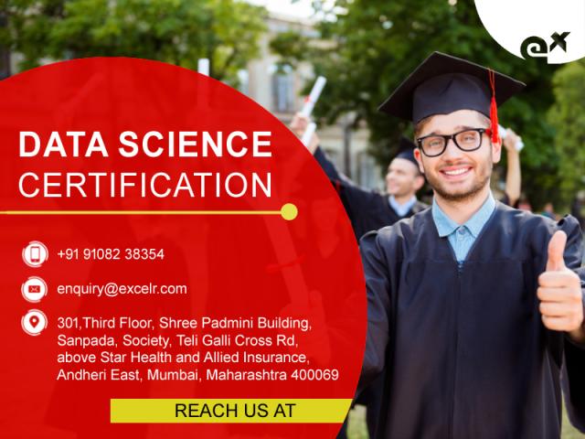 Data Science Certification, Oct 16