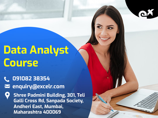 Data Analyst Course, Oct 16